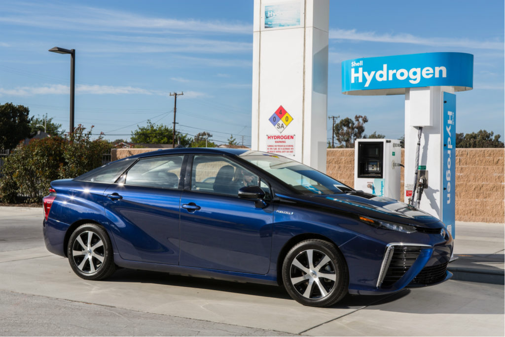 Hydrogen Fuel Cell Stop